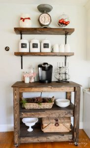 kitchen coffee bar ideas