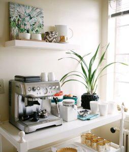 elegance home coffee station ideas - Kitchen Coffee Bar