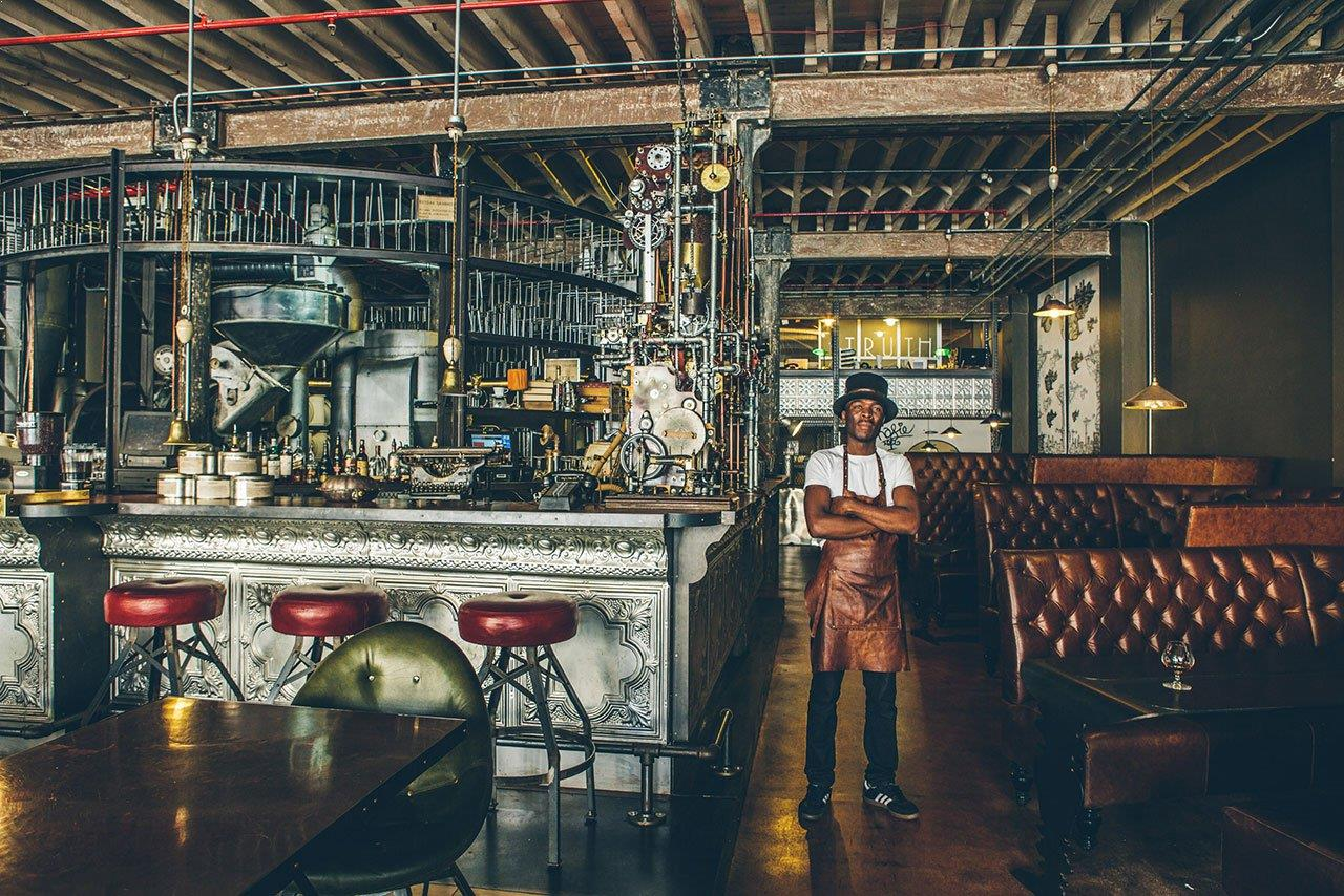 Truth Cafe Cape Town South Africa Steampunk Restaurant