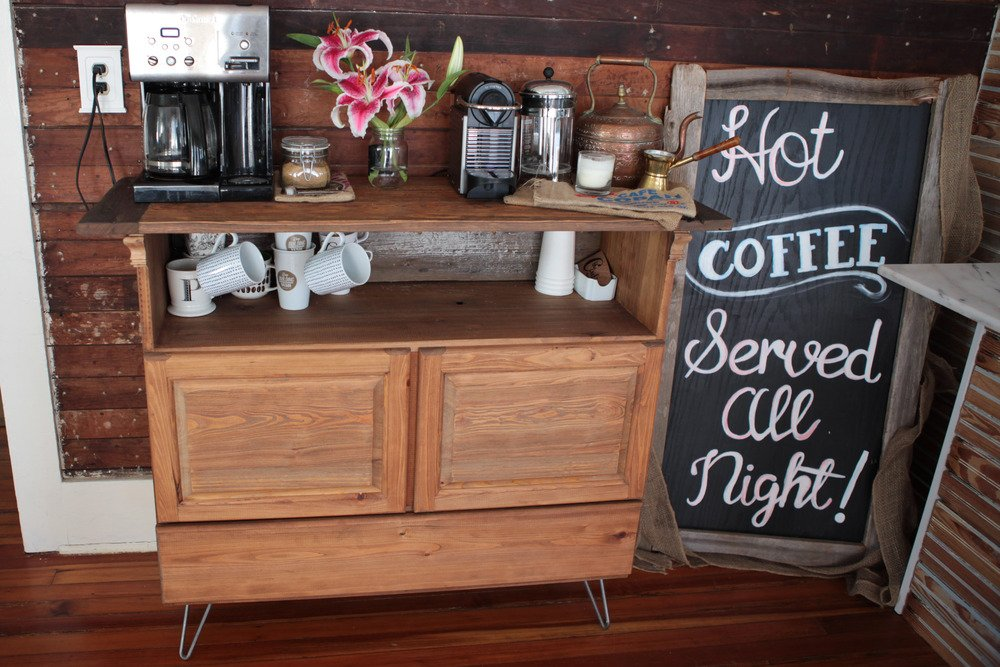 home coffee bar