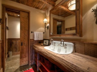 Rustic Countertops - Bathroom Wooden Raw Rustic Countertops Hzz
