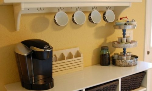 Most Outstanding Coffee Station Ideas to Help You Decide Your Home Coffee Bar Design