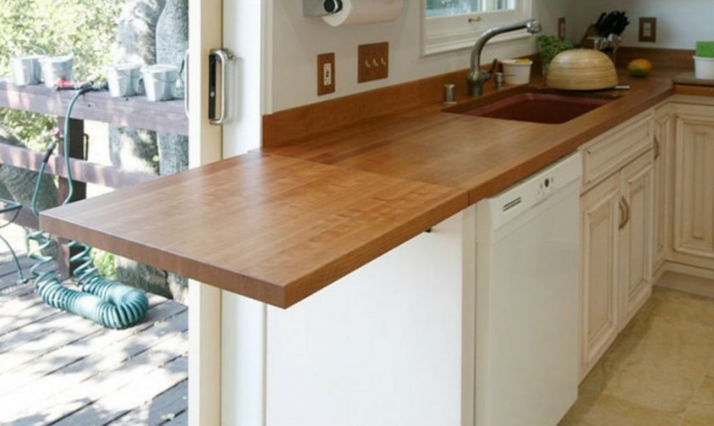 your bathroom will make wooden countertops cozier hzz rustic raw kitchen that home comfier and