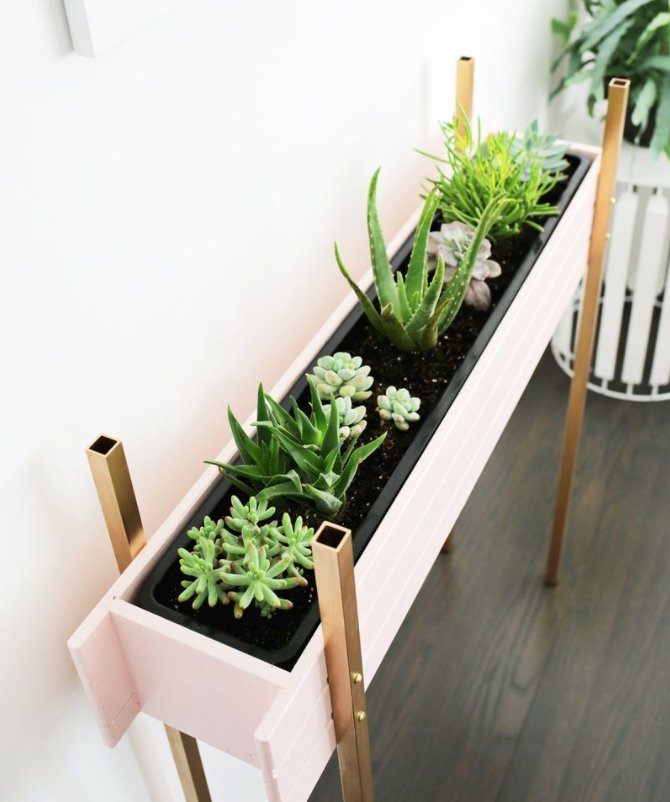 beautiful house plant stand. Modern Brass Legs Stand Plant 36  DIY Ideas for Indoor and Outdoor Decoration