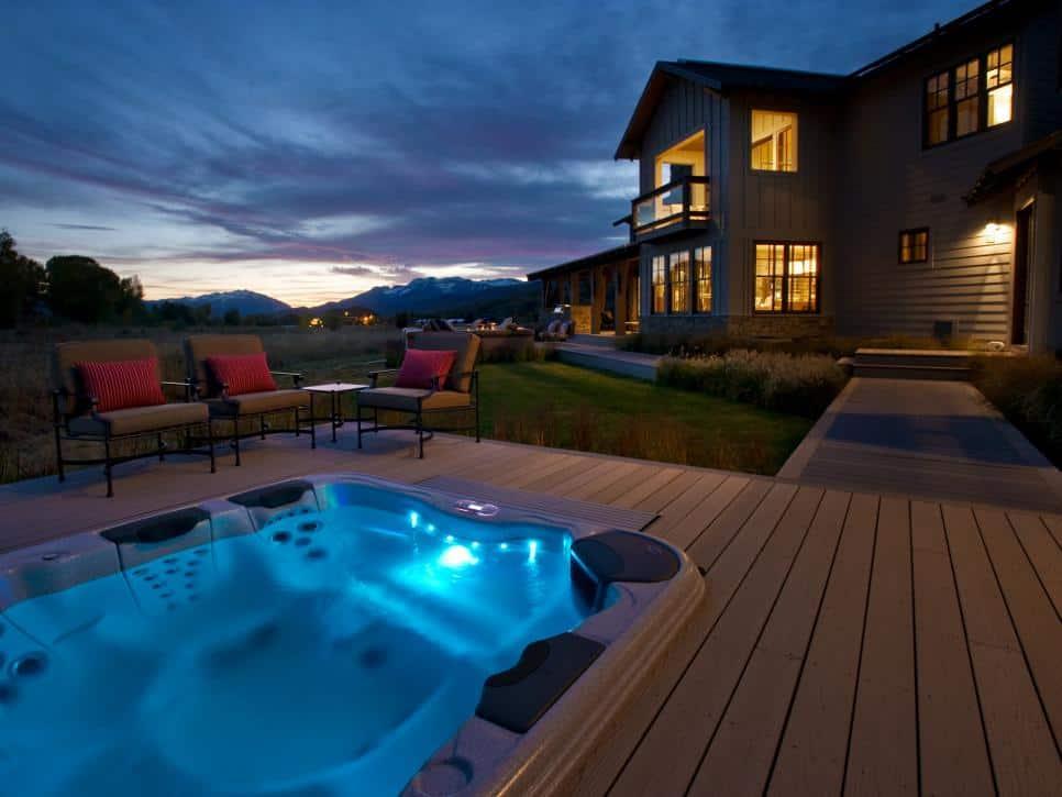 outdoor spa resort
