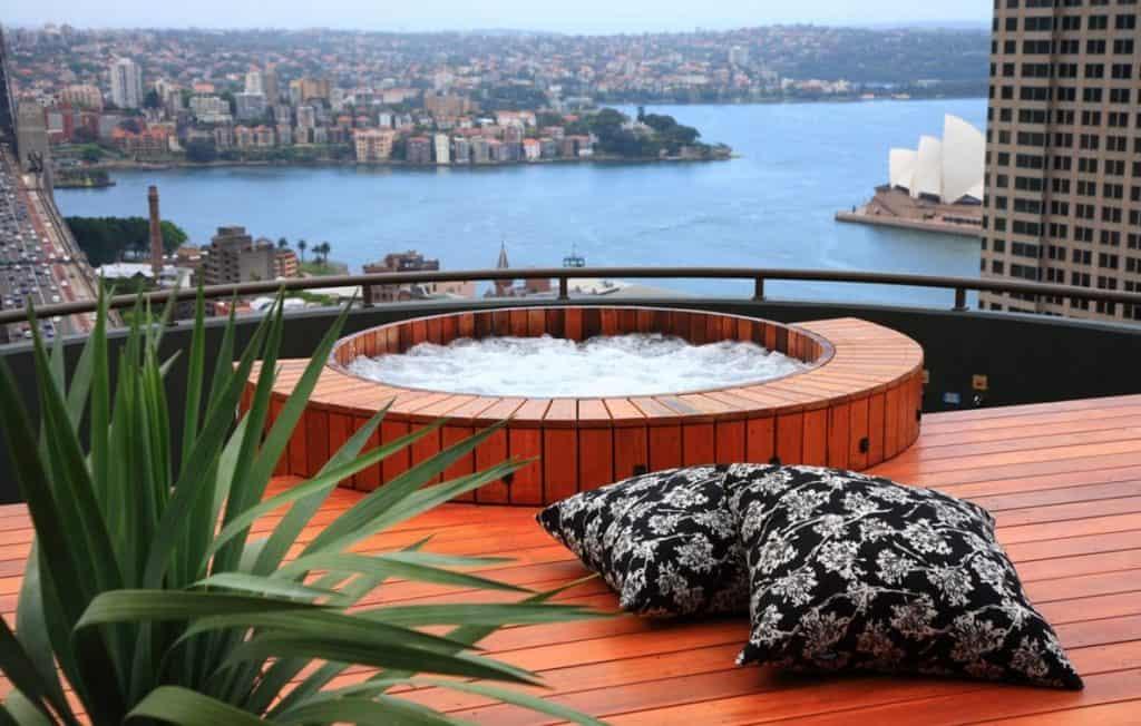 luxury swimming pool floats