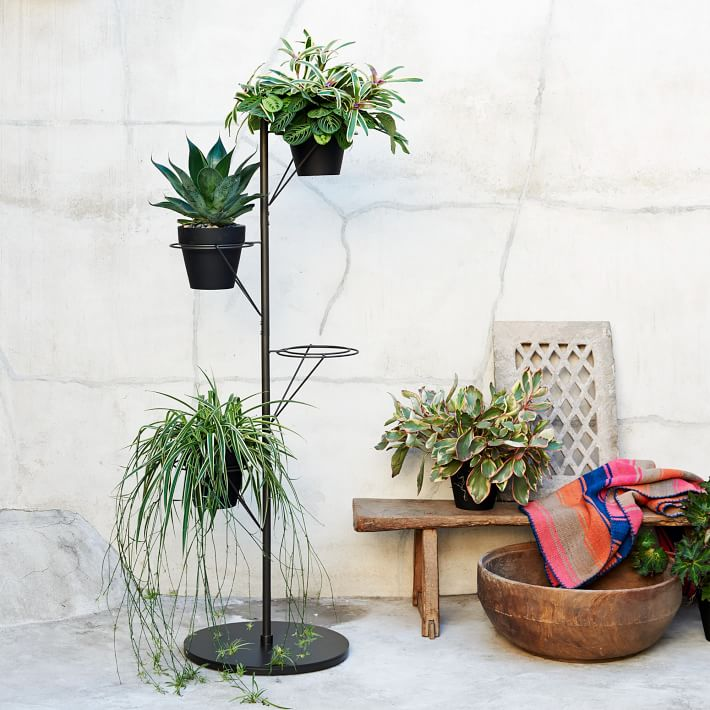 how to build a plant stand out of wood