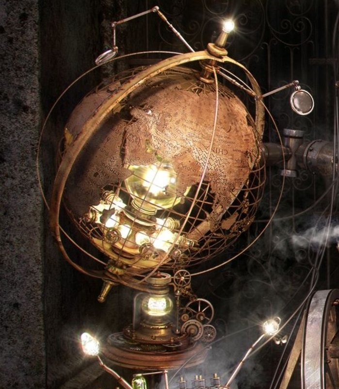 steampunk furniture ideas