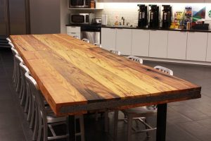 rustic wood countertops for kitchens