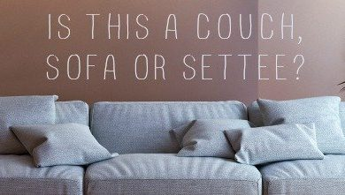 Couch Vs Sofa - Sofa Vs Couch Vs Settee