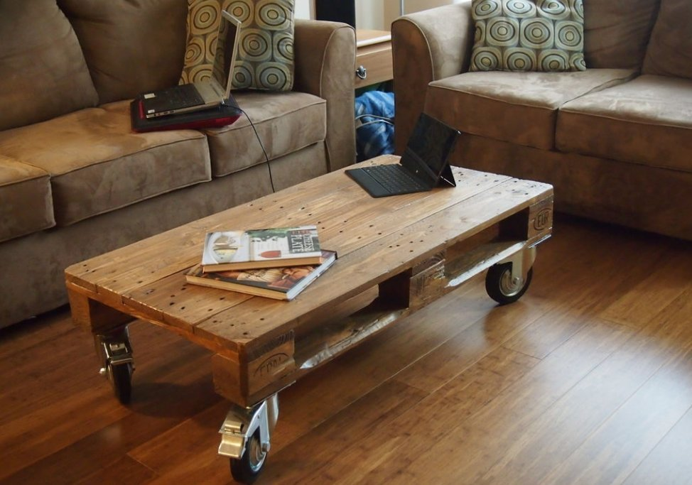 unique coffee table ideas end simple wooden pallet coffee table on wheels 15 amazingly cool ideas for your living room