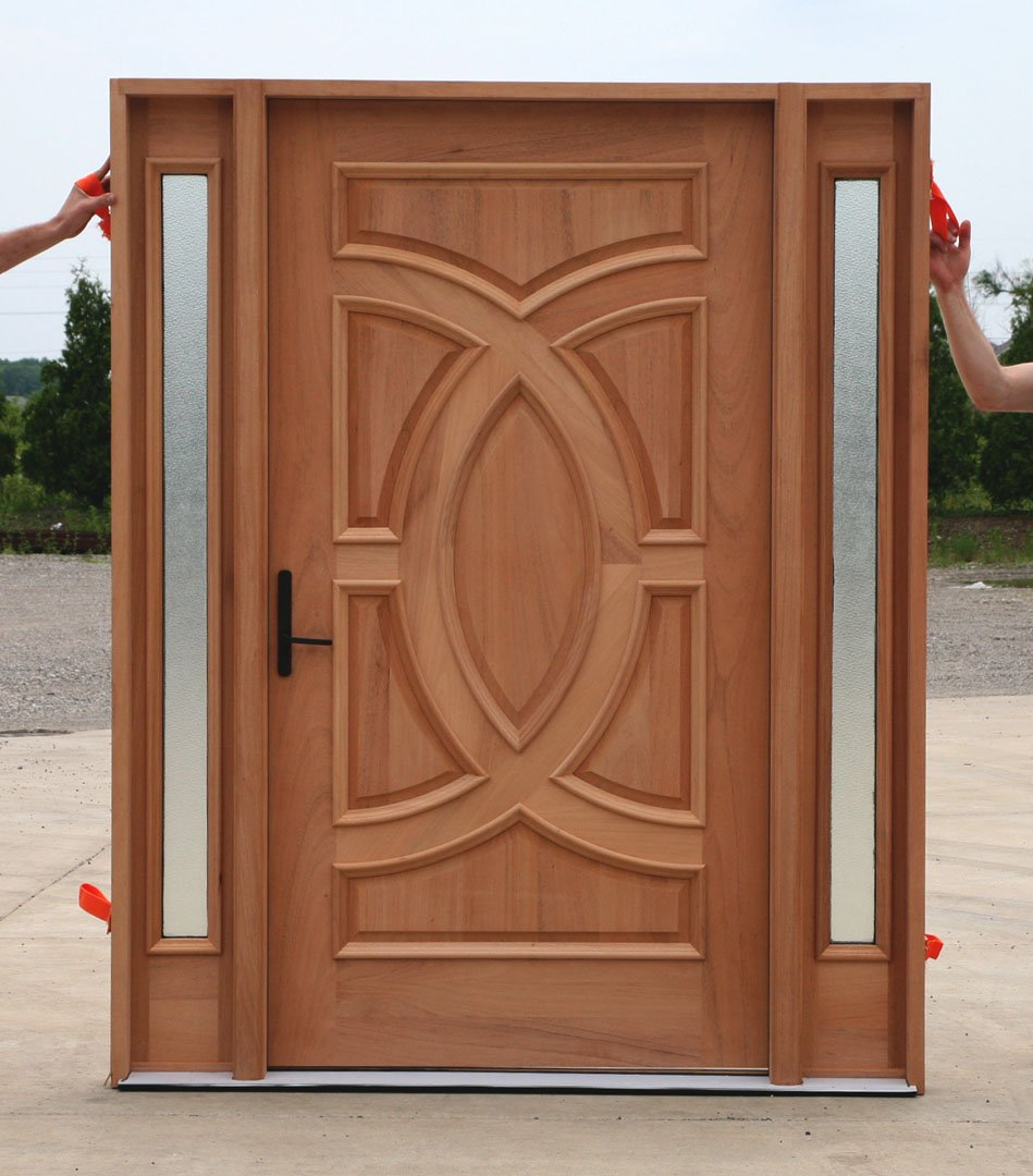 19 most common door types you probably didn 39 t know for Types of wood doors are made of