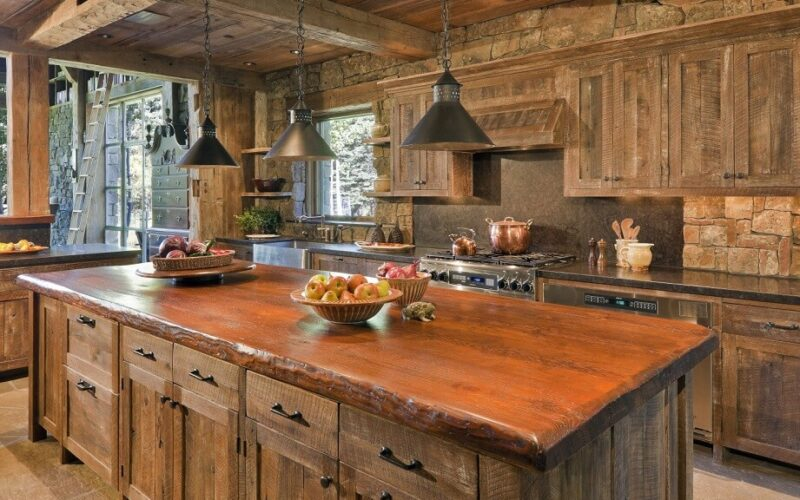 31 Best Reclaimed Barnwood Kitchen Island Pictures to Inspire You