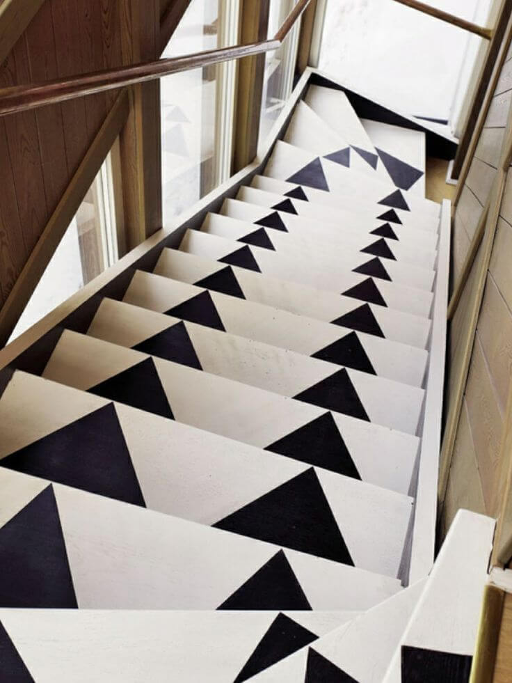 Beautiful painted staircase ideas