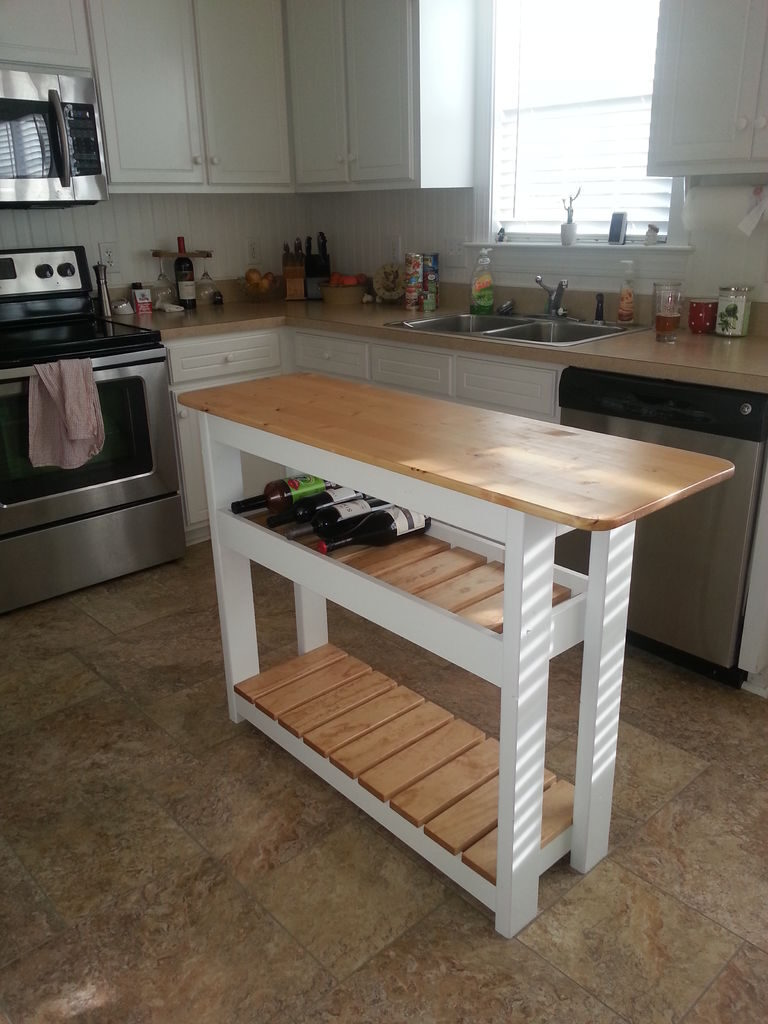 barnwood kitchen island plans