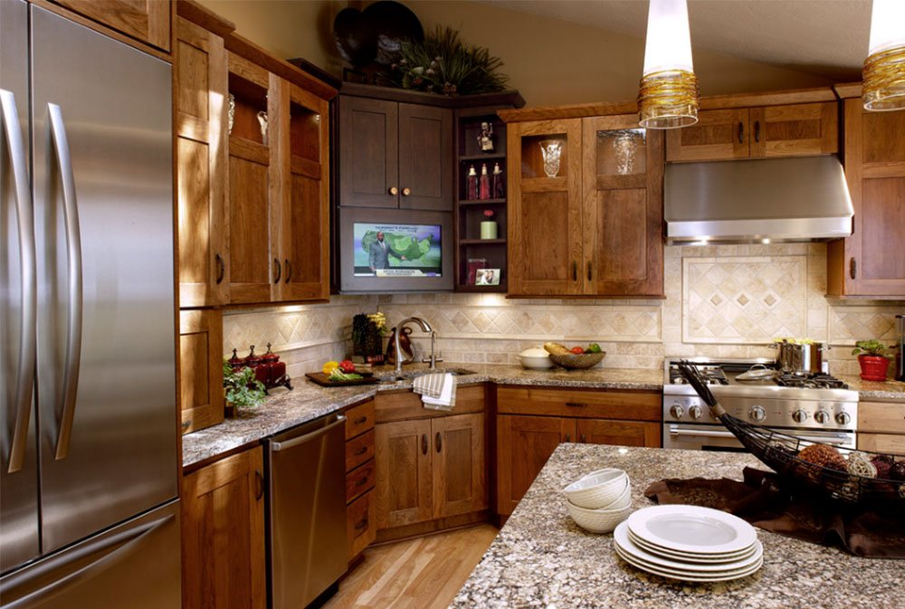 Corner kitchen sink design ideas remodel for your perfect home Kitchen design with corner sink
