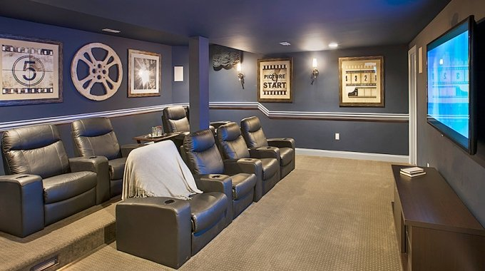 48 Extraordinary Basement Home Theater That You'd Wish To Own Extraordinary Basement Home Theater Design Ideas