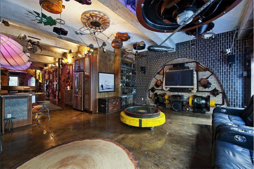 Steampunk Bedroom Design Ideas - Bedroom Decor Steampunk Ideas Cablook