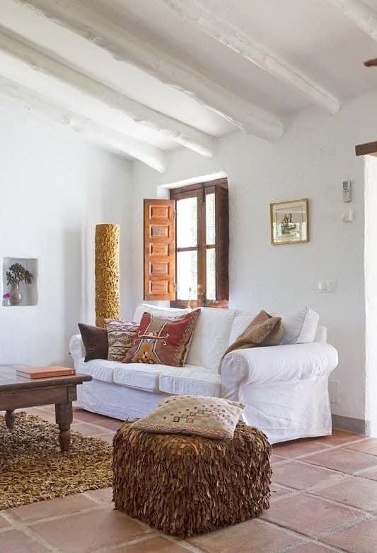 Southwestern interior design color ideas