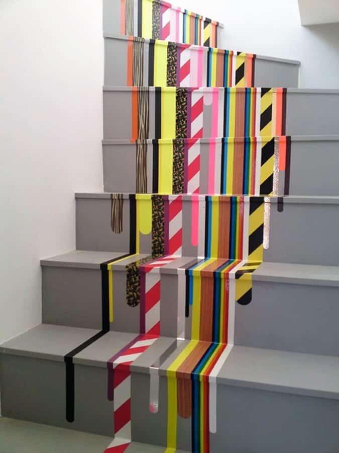 DIY staircase color inspiration