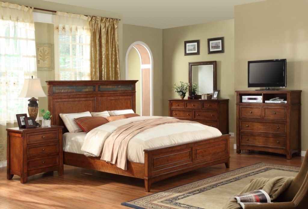 21 craftsman style house ideas with bedroom and kitchen for Craftsman bed