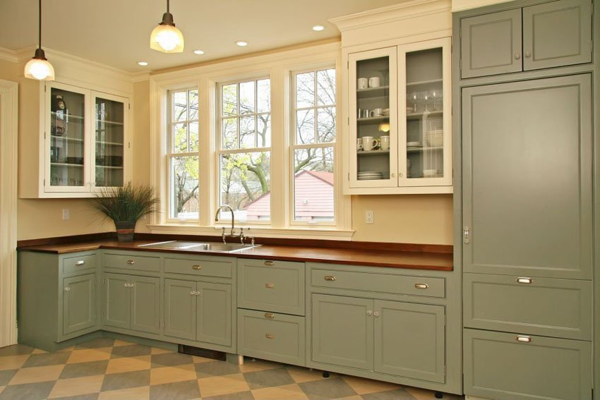 one wall kitchen plans