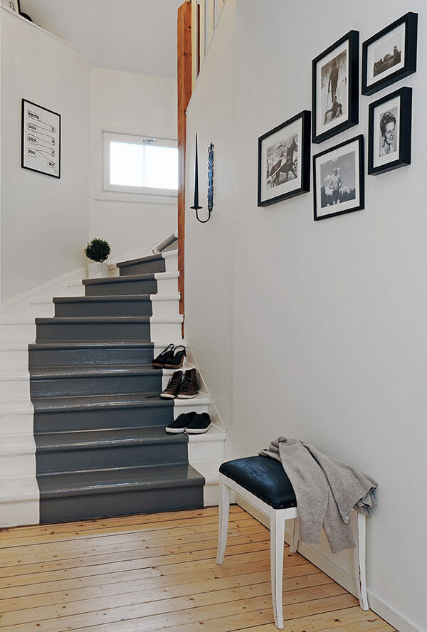 stairway paint color ideas