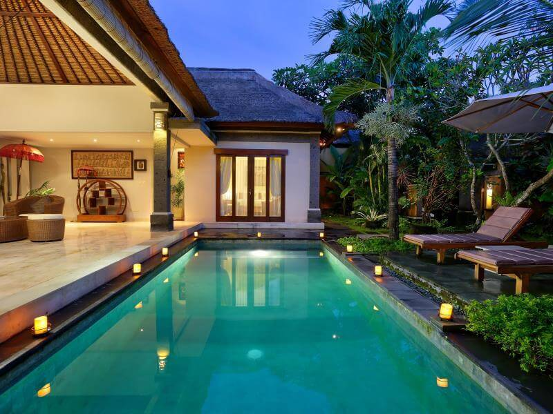 Revitalize your eyes with these luxury swimming pool designs for Pool design villa