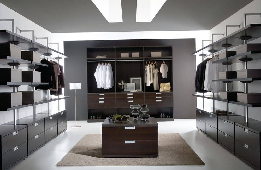 high end closet systems