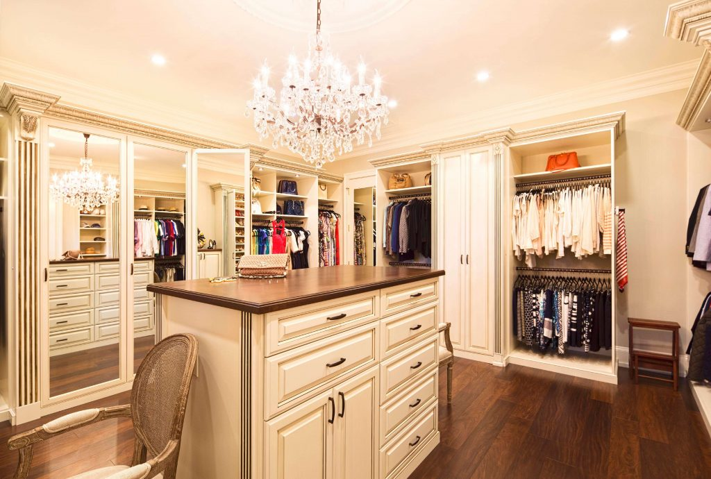 luxury walk in closets photos
