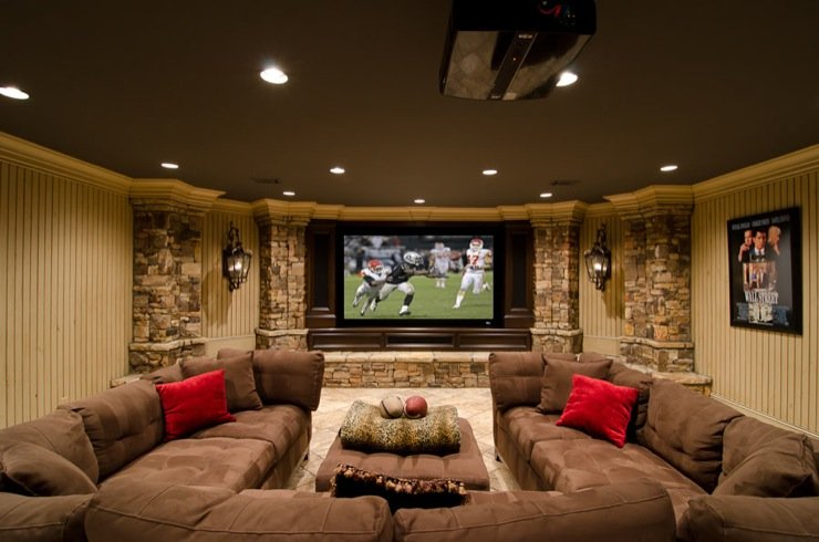10 Extraordinary Basement Home Theater That You D Wish To Own