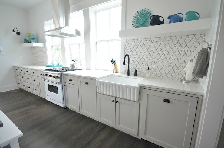 Kitchen Island Wall Covering