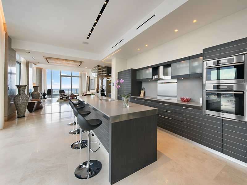 Superb One Wall Kitchen With Island