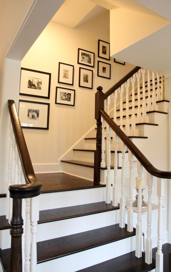Grayscale Staircase Ideas