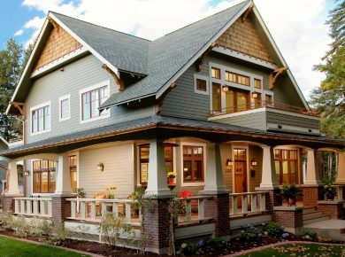 Craftsman-Style House - Perfect Craftsman Style House
