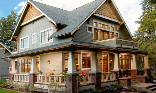 21 Craftsman-style House Ideas With Bedroom and Kitchen Included
