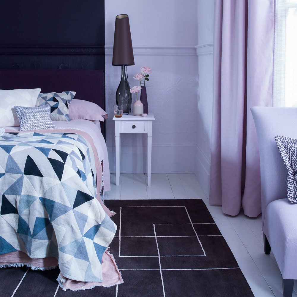 Pink And Purple Bedroom Design