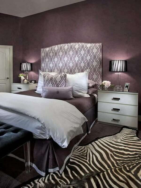 25 Attractive Purple Bedroom Design Ideas to Copy