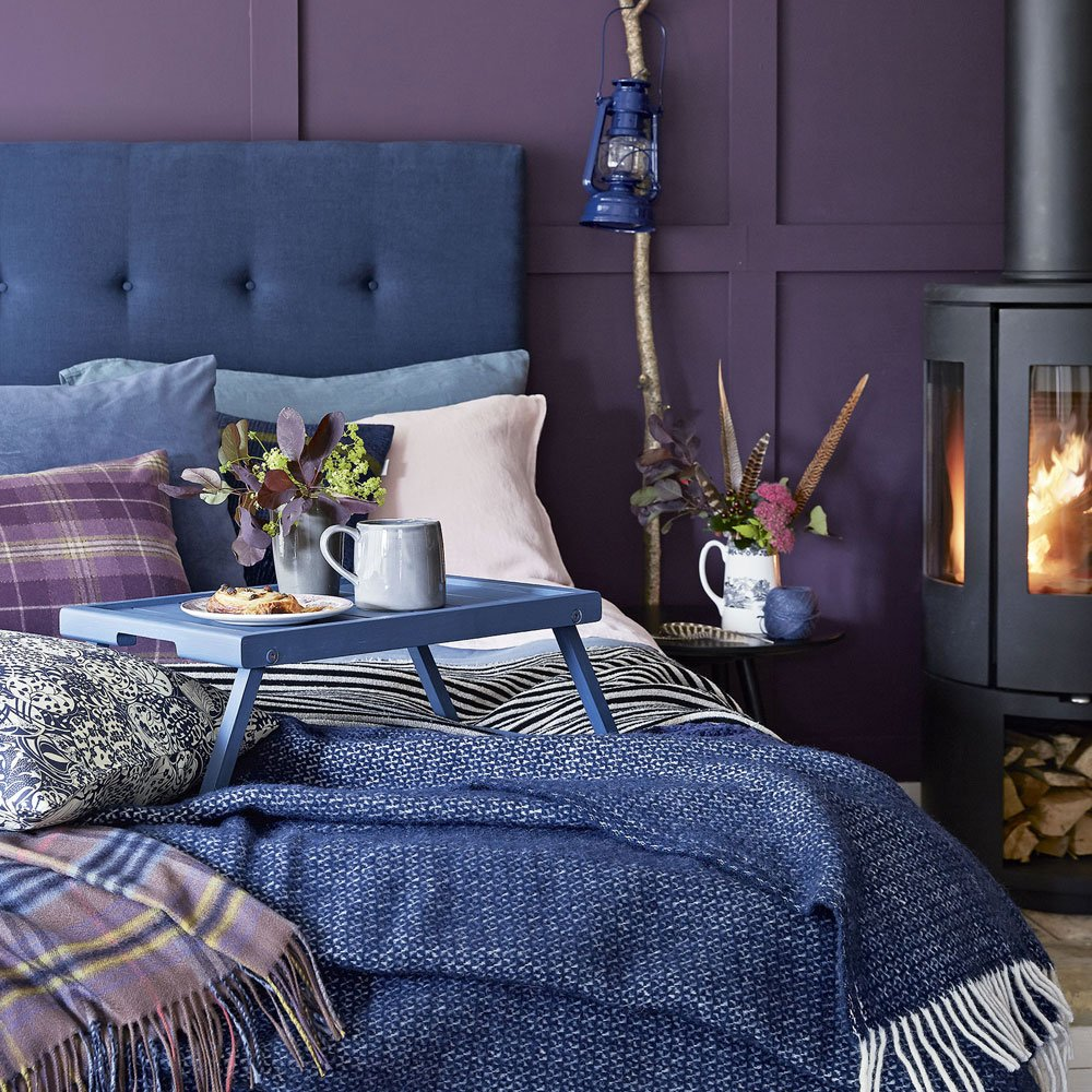 blue purple bedroom ideas 25 attractive purple bedroom design ideas you must 14627
