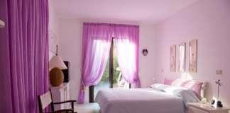 purple bedroom design for teenage girl
