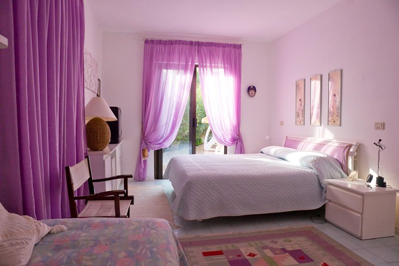 Purple Bedroom Design For Age