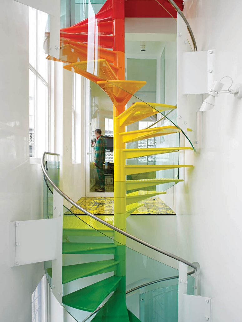 cool painted staircase ideas