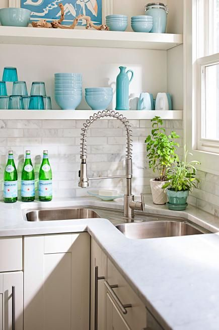 Corner Kitchen Sink 7 Design Ideas For