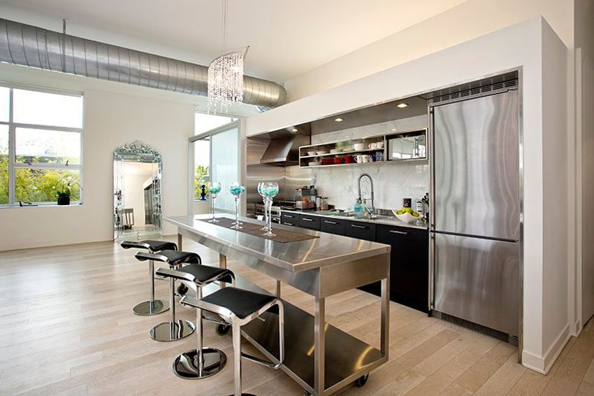 27 most hilarious one wall kitchen design ideas and for Kitchen units on one wall