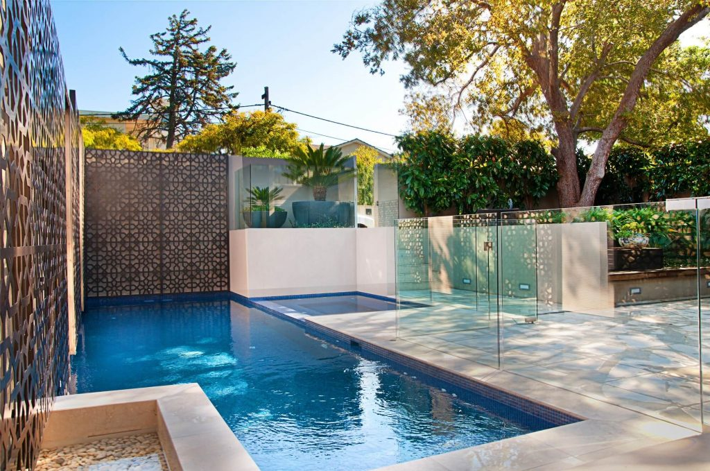 luxury pools for small spaces