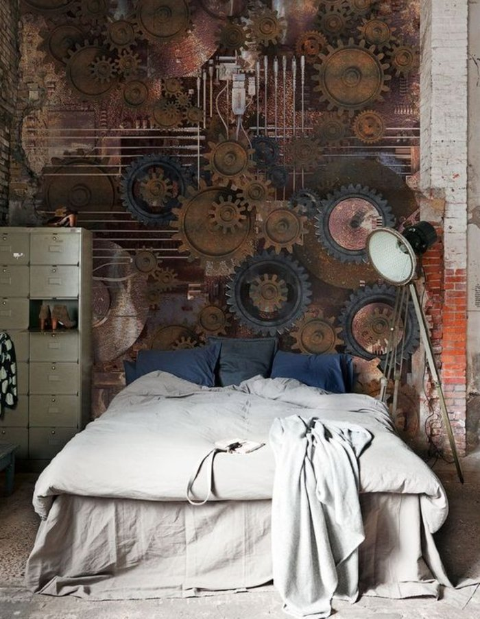victorian steampunk decor