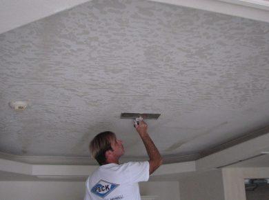 Ceiling Texture Types - Skip Trowel Texture Cocoa Beach Condominium E1497227694585