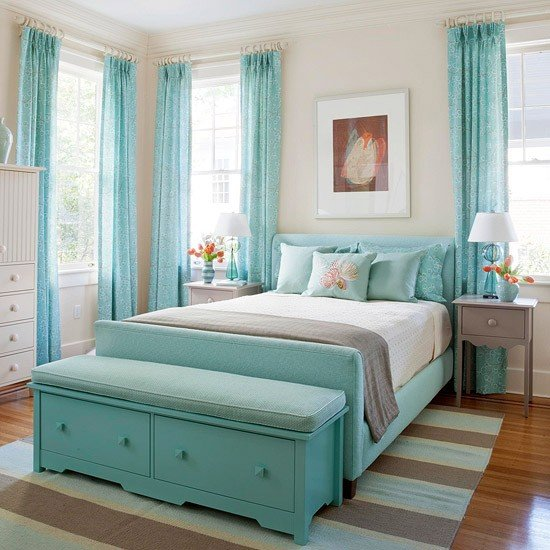 Bedroom Ideas Turquoise turquoise room ideas and inspiration to brighten up your house!
