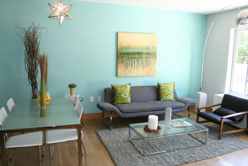 DOWNSTAIRS LIVING ROOM Turquoise color scheme | Vintage ...