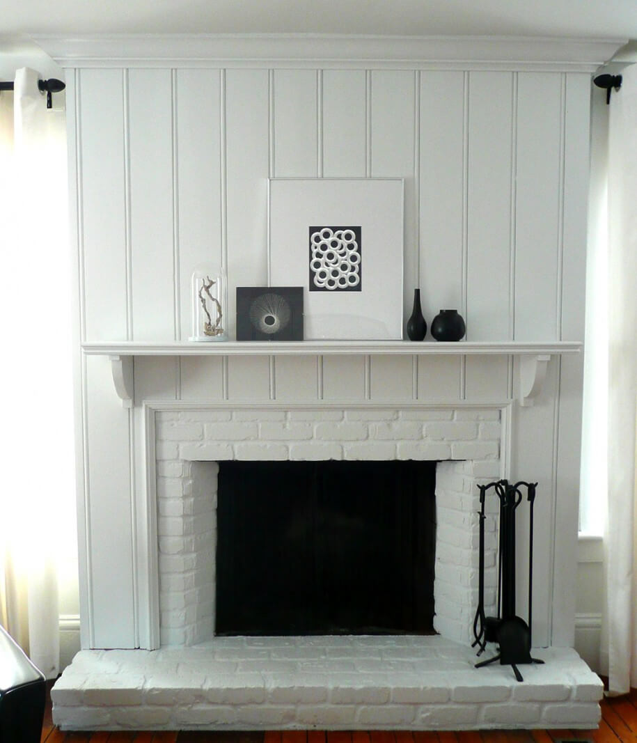 Stylish Fireplace Tile Ideas For Your Fireplace Surround - Brick fireplace tile ideas